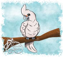 Goffin cockatoo by NadilynBeato