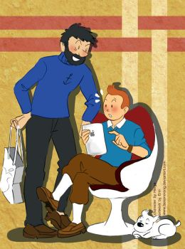 HAPPY BIRTHDAY TINTIN by bukanorang