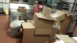 Never too old for box forts at work. [scrap] by Pickleplayer