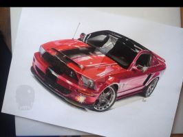 Mustang Shelby by Mnichuu