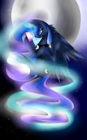 Luna's night by thedudegamer