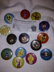 Awesome buttons from ShowtimeandCoal by Mallinda