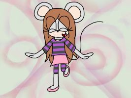 Penelope the mouse .:redesign:. by Nightshade-warroir