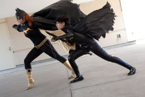 Batgirls: Cassandra Cain and Barbara Gordon by BevanMaria