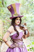 Caitlyn  - league of Legends by Angel--Arwen