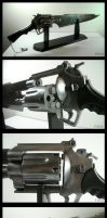 FFVIII- Squall's gunblade by fevereon