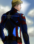 Captain-America by DaneeCastillo