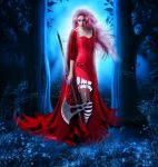 Dangerous Red Riding Hood by Fae-Melie-Melusine