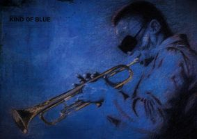 Miles Davis - Kind of Blue by amidrinestudio