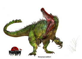 JP-Expanded Baryonyx walkeri by Teratophoneus