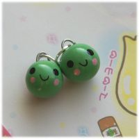 Pea Charms by Keito-San