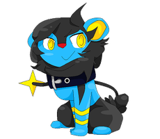 Blue the Luxio by OFFOFTHEWORLD