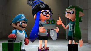 Happy Early Birthday, Poool157 [Splatoon SFM] by Geoffman275