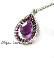Violet drop by OlgaC
