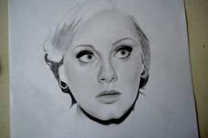 Adele WIP 2 by morningcoffeebreak