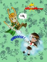 LoL Loki by Onyx-Art
