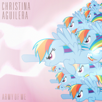 Christina Aguilera - Army of Me (Rainbow Dash) by AdrianImpalaMata