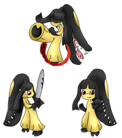 Mawile Renders Fight by michelle09465