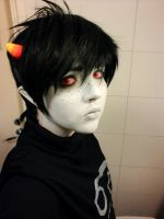 Karkat test by The-White-Death
