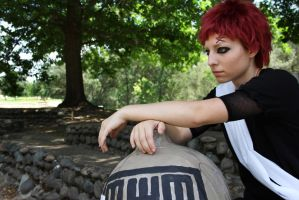 Gaara: Alone 2 by demonexile0708