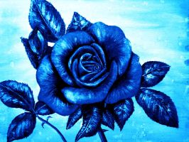 Roses are Blue by AnnMarieBone