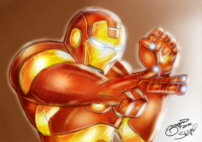 Iron Man Colorjob only by BouncieD