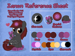 Reference sheet: Zanon by Veemonsito