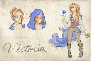 Oc Victoria by crackerpattiez