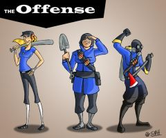 The Offense by Bobfleadip