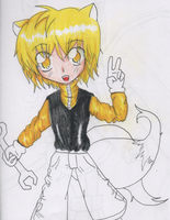Sonic Humans:Tails (unfinished) by sSflowerSs