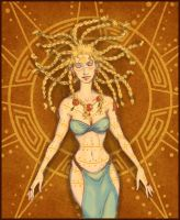 Daughter of the Sun by temiel