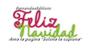 Texto PNG Navideno by FernandaaEditions