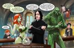 TLIID 275. Ivy and Swamp Thing in Snape's class by AxelMedellin