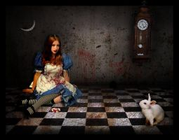 Alice In Wonderland by Tortured-Raven