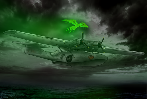 PBY and Balefire Phoenix (Fallout: Equestria) by Filincool