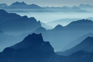 Blue Alps by Addran