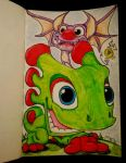 Yooka-Laylee by v-Germs-v