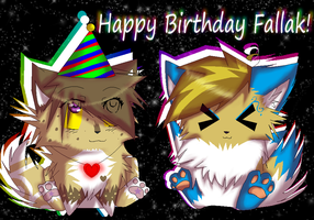 Happy Birthday Fally C: by CookiemonsterMS