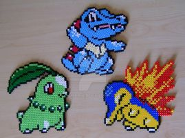 Pokemon sprite bead 9 by Chiki012
