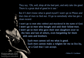 Helen Gardener on Biblical Morality.. by rationalhub