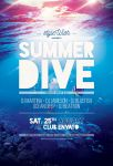 Summer Dive Flyer by styleWish
