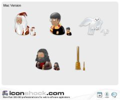 Harry Potter Vista Icons MAC by Iconshock