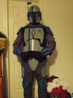 Death Watch Mandalorian Armor out of EVA by jronk13