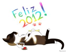 Happy 2012 by MilaLouise