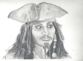 Jack Sparrow by TheDancingZebra