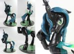 Queen Chrysalis by dustysculptures