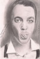 Sheldon Cooper by TheRockCandysMelted