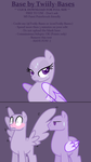 MLP Base 353 - Pomf by ShiiBases