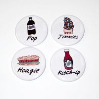 Pittsburghese slang food magnet set by ange-etrange