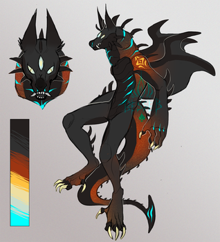 Demon Adoptable #2 Auction  CLOSED by BeSSeB